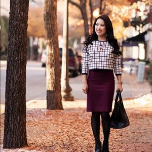 No.2 pencil skirt